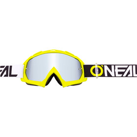 ONeal B-10 Goggle TWOFACE hi-viz-mirror silver